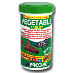 image: Prodac Vegetable Tablet 100 ml - 60 g