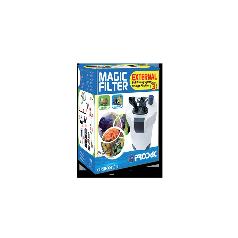 image: Prodac Magic External Filter 3 (külső szűrő 500-800 literig) + UV lamp