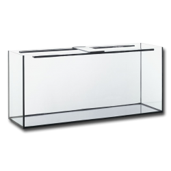 300 literes akvárium, 120X50X50/8 mm