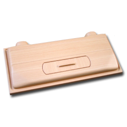 image: DIVERSA műanyag tető 80 x 35 - 2 x 18W T8 (bükk)