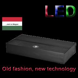 image: RETRO-LED 80X40 2X8,5W LED akvárium tetõ Fekete