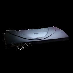 image: DIVERSA Aristo műanyag tető 80 x 35 - 2 x 18W T8 (fekete)