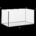 Diversa 112 literes akvárium, 80x35x40/6 cm