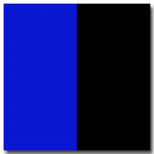 Poszter, fekete/kék (60 cm magas) / 1 méter