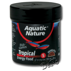 image: Aquatic Nature Tropical Energy Food Small 190 ml (80 g)