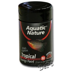 image: Aquatic Nature Tropical Energy Food Medium 124 ml (50 g)