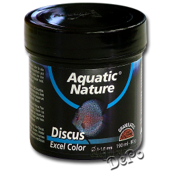 image: Aquatic Nature Discus Excel Color Food 190 ml - 80 g