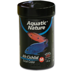image: Aquatic Nature African Cichlid Excel Color Food Medium 320 ml - 130 g