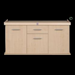 image: DIVERSA Solid bútor 160 x 60 - fekete