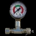 Nyomásmérő- növelő- mágnesszelep
